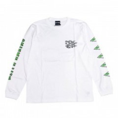 "★30%OFF★ THRASHER×KEITH HARING コラボL/STシャツ ""THKH-LST12"" (Whi"