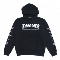 "★30%OFF★ THRASHER×KEITH HARING コラボパーカ ""THKH-HD15"" (Black)"