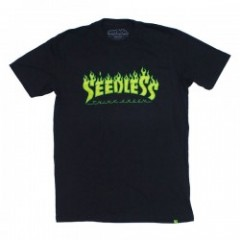 "seedleSs Tシャツ ""THRASHED TEE"" (Black)"