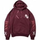 "Deviluse パーカ ""JINX PULLOVER HOODED"" (Maroon)"