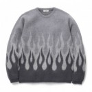 "RADIALL セーター ""HELL CREW NECK SWEATER L/S"" (Black)"