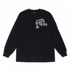 "ANTIHERO L/STシャツ ""LOST L/S TEE"" (Black/White)"
