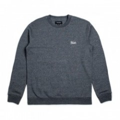 "BRIXTON クルースウェット ""POTRERO CREW FLEECE"" (Charcoal)"