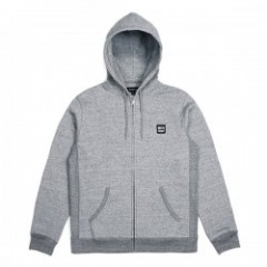 "BRIXTON ジップパーカ ""BERING ZIP HOOD FLEECE"" (H.Gray)"
