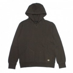 "BRIXTON パーカ ""HACKNEY HOOD FLEECE"" (Washed Brown)"