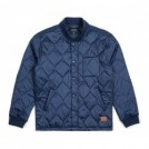 "BRIXTON ジャケット ""CRAWFORD JACKET"" (Navy)"
