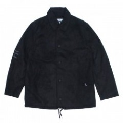 "Deviluse ジャケット ""SUEDE COACH JKT"" (Black)"