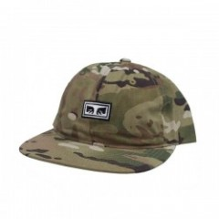 "OBEY キャップ ""OVERTHROW 6 PANEL SNAPBACK CAP"" (D.Camo"