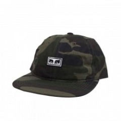 "OBEY キャップ ""OVERTHROW 6 PANEL SNAPBACK CAP"" (Camo)"