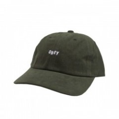 "OBEY キャップ ""JUMBLE BAR Ⅲ 6 PANEL CAP"" (Army)"