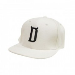 "Deviluse キャップ ""D WOOL SNAPBACK CAP"" (White)"
