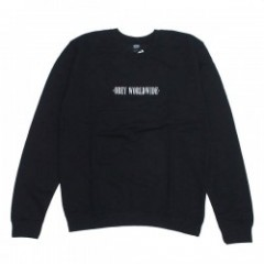 "OBEY ""OBEY NEW TIMES WORLDWIDE CREW SWEAT"" (Black)"