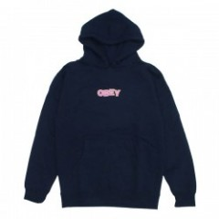 "OBEY パーカ ""RIPPED PULLOVER HOOD"" (Navy)"