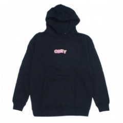 "OBEY パーカ ""RIPPED PULLOVER HOOD"" (Black)"