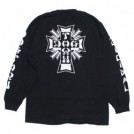 "DOGTOWN L/STシャツ ""DTxST LONG SLEEVE TEE"" (Black)"