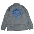 "DOGTOWN コーチジャケット ""CROSS LOGO WINDBREAKER"" (Silve/Navy)"