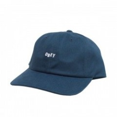 "OBEY キャップ ""CUTTY 6 PANEL SNAPBACK CAP"" (Dark Teal)"