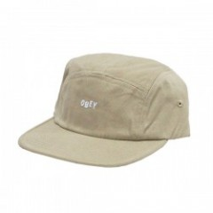 "OBEY キャップ ""JUMBLE BAR Ⅱ 5 PANEL CAP"" (Dark Khaki)"
