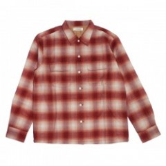 "RADIALL L/Sシャツ ""CMW SHIRT"" (Red)"