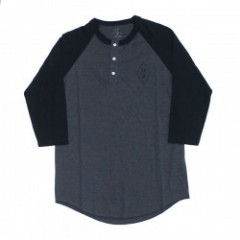 "SAINT ARCHER ""DIAMOND 3/4 SLEEVE HENLEY"""