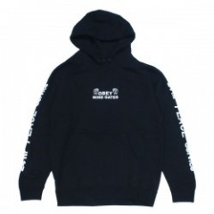 "OBEY パーカ ""OBEY MIND GATE PULLOVER HOOD"" (Black)"