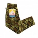 "COOKMAN シェフパンツ ""CHEF PANTS"" (Ripstop / Woodland Camo / Green)"