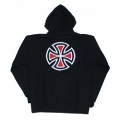 "INDEPENDENT パーカ ""BAR/CROSS PULLOVER HOOD"" (Black)"