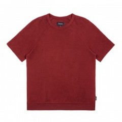 "★30%OFF★ BRIXTON ""CODY S/S CREW FLEECE"" Burgundy"
