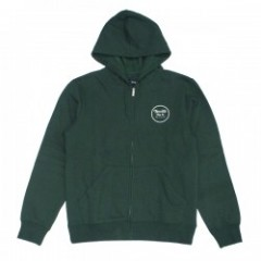 "BRIXTON ジップパーカ ""WHEELER ZIP HOOD"" (Forest Green)"