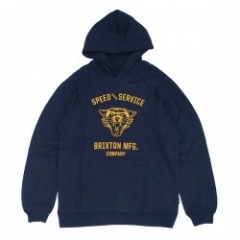 "BRIXTON パーカ ""RYDELL HOOD FLEECE"" (Navy)"