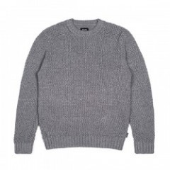 "BRIXTON セーター ""NEPTUNE SWEATER"" (Heather Gray)"