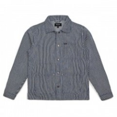 "BRIXTON ジャケット ""SURVEY JACKET"" (Blue/White)"