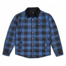 "BRIXTON ジャケット ""CASS JACKET"" (Blue Plaid)"