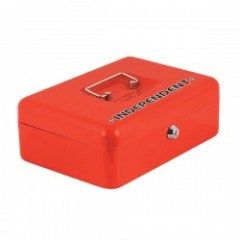 "INDEPENDENT メタルボックス ""VAULT LOCK BOX"" (Red)"