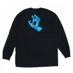 "SANTA CRUZ L/STシャツ ""SCREAMING HAND L/S TEE"" (Black)"