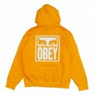 "OBEY パーカ ""OBEY EYES ICON PULLOVER HOOD"" (Gold)"