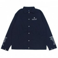 "ROARK REVIVAL ジャケット """"WAYWARD"" COACHES JACKET"" (Navy)"