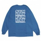 "redrope L/STシャツ ""SUNDAY FUNDAY L/S TEE"" (C.Blue)"