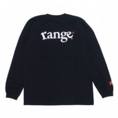 "range ""RG HEAVY WEIGHT 7.1oz RED STAR L/S TEE"" Blk"