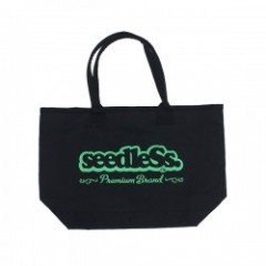 "seedleSs トートバッグ ""SD WATER RESISTANCE TOTE BAG"" Blk"