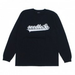 "seedleSs L/STシャツ ""SWING LOGO L/S TEE"" (Black)"