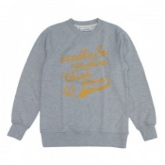 "seedleSs ""CHAINS BINTAGE CREW SWEAT"" (H.Gray)"