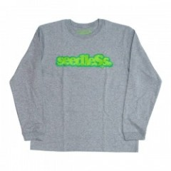 "seedleSs L/S Tシャツ ""COOP REGULAR L/S TEE"" (H.Gray)"