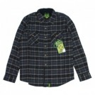 "CREATURE L/Sシャツ ""ANGLER SHIRT"" (Black Plaid)"