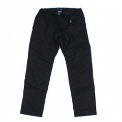 "ROARK REVIVAL x GRAMICCI パンツ ""TWILL ST NEW TRAVEL PANTS -REGULAR FIT"" (Black)"