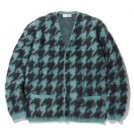 "RADIALL カーディガン ""LESLIE CARDIGAN SWEATER L/S"" (Mint Green)"