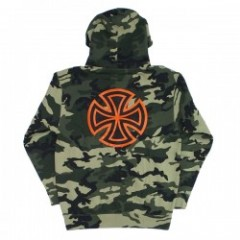 "INDEPENDENT パーカ ""BAR/CROSS PULLOVER HOOD"" (Camo)"