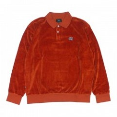 "OBEY L/Sポロシャツ ""SAUCER POLO"" (Picante)"