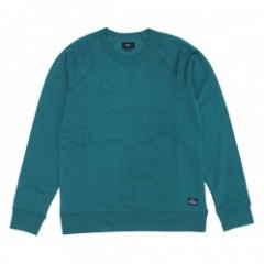 "OBEY クルースウェット ""LOFTY CREATURE COMFORT II CREWNECK"" (Dusty Teal)"