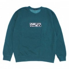 "OBEY クルースウェット ""OBEY INSIDE OUT CREWNECK"" (Dusty Pine)"